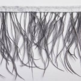 Dekoratyvinės juostos su stručio plunksnomis