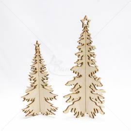 Kalėdinės tūrinės dekoracijos