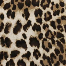 Viskozinis trikotažas - leopardas